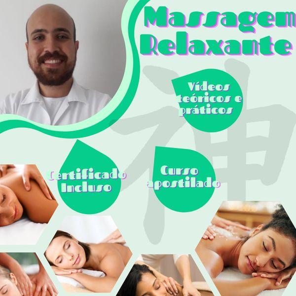 Imagem principal do produto CURSO DE MASSAGEM RELAXANTE