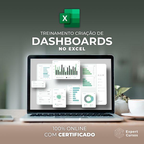 Imagem principal do produto Criação de Dashboards no Excel