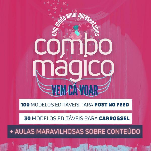Imagem principal do produto COMBO MÁGICO   Vem Cá Voar