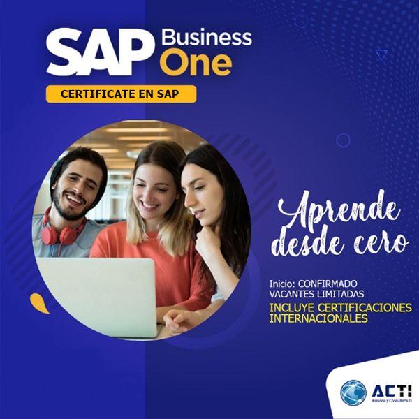 Imagem principal do produto Curso de SAP BUSINESS ONE