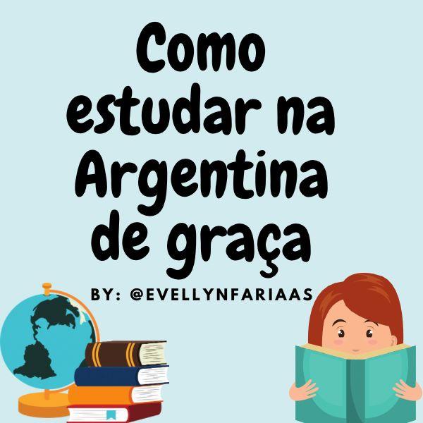 Imagem principal do produto COMO ESTUDAR NA ARGENTINA DE GRAÇA