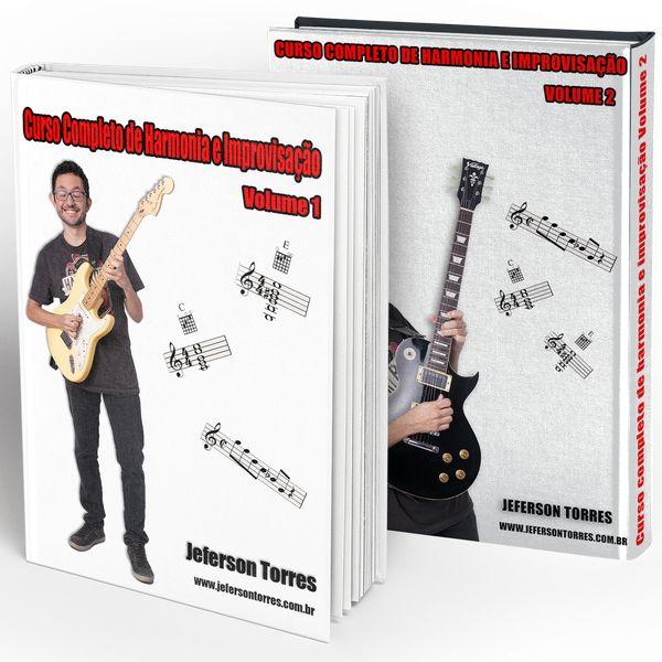 Imagem principal do produto Curso Completo de Harmonia e Improvisação - Volumes 1 e 2