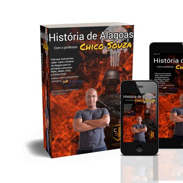 Imagem principal do produto HISTÓRIA DE ALAGOAS PARA CONCURSOS