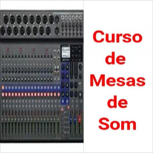 Imagem principal do produto Curso de Mesa de Som