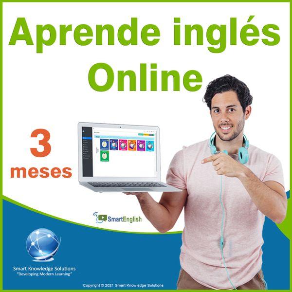 Imagem principal do produto Curso de inglés online programa completo autoestudio – Suscripción 3 meses incluye libro y certificado