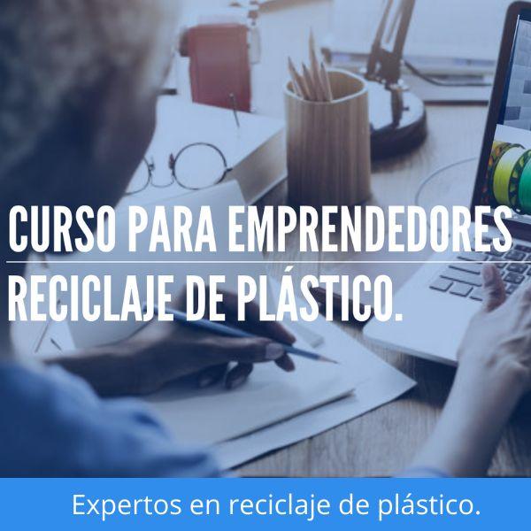 Imagem principal do produto CURSO PARA EMPRENDEDORES DE RECICLAJE DE PLÁSTICO.