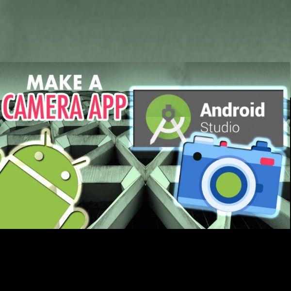 Imagem principal do produto How to Make a Camera App in Android Studio!