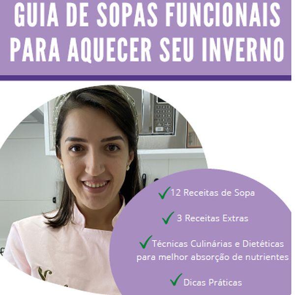 Imagem principal do produto GUIA DE SOPAS FUNCIONAIS PARA AQUECER SEU INVERNO