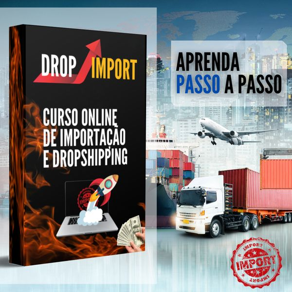 Imagem principal do produto Drop Import - Curso de Importação e DropShipping