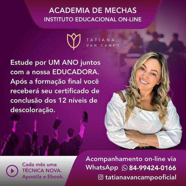 Imagem principal do produto ACADEMIA DE MECHAS - Instituto Educacional On-line