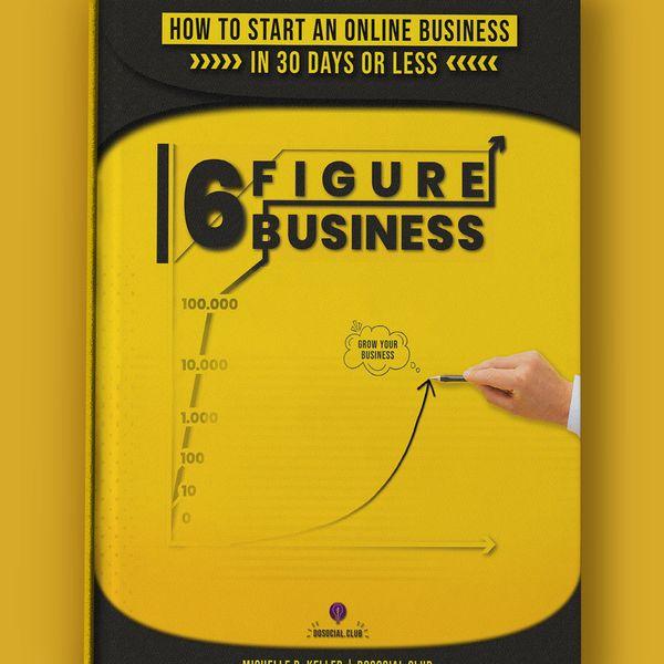 Imagem principal do produto 6 Figure Business Book