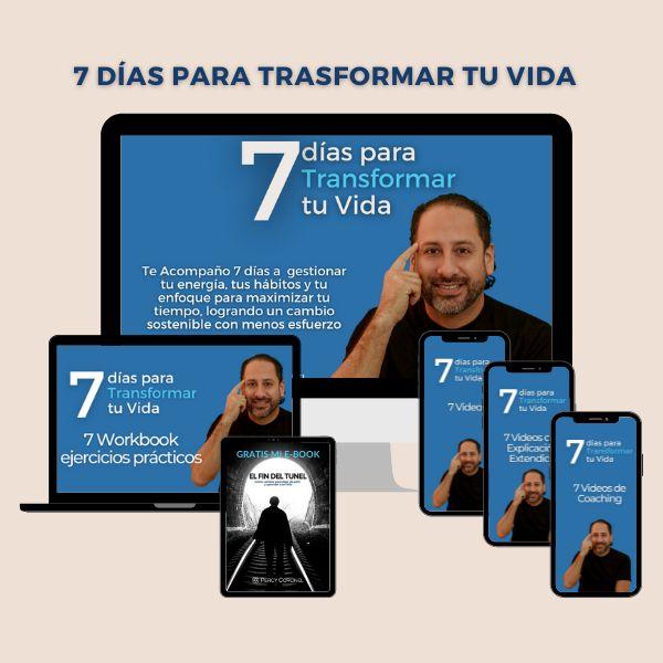 Imagem principal do produto 7 Días para Transformar tu Vida
