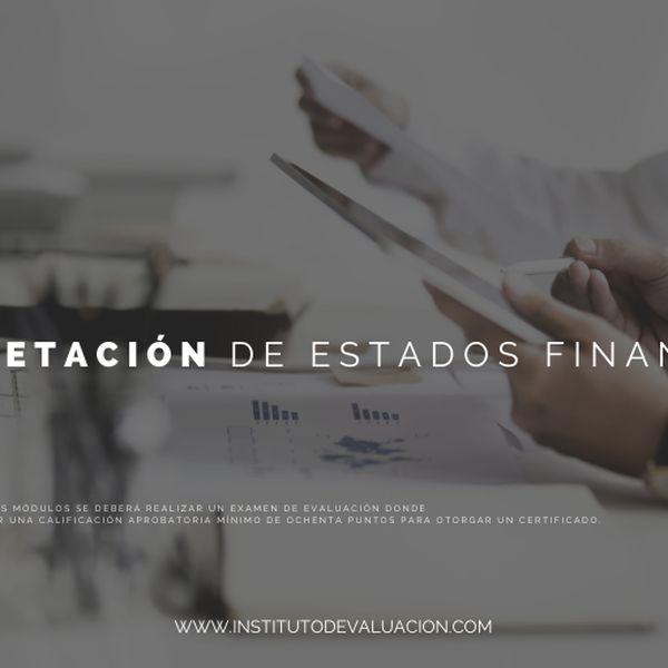 Imagem principal do produto Interpretación de Estados Financieros