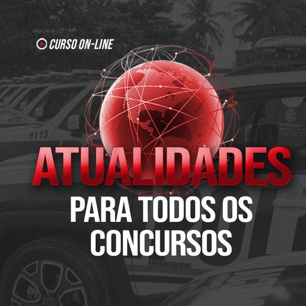 Imagem principal do produto ATUALIDADES PARA TODOS OS CONCURSOS - Prof. Brando | PADRÃO CONCURSOS