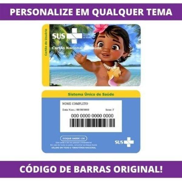 Imagem principal do produto Cartão do SUS Personalizado