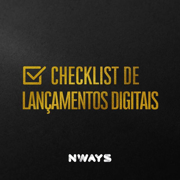 Imagem principal do produto Checklist de Lançamentos Digitais