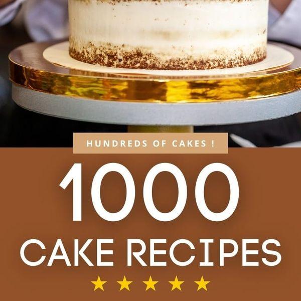 Imagem principal do produto 1000 Cake Recipes
