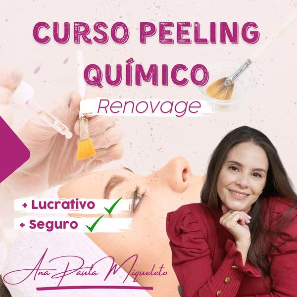 Imagem principal do produto Curso de Peeling Químico Renovage