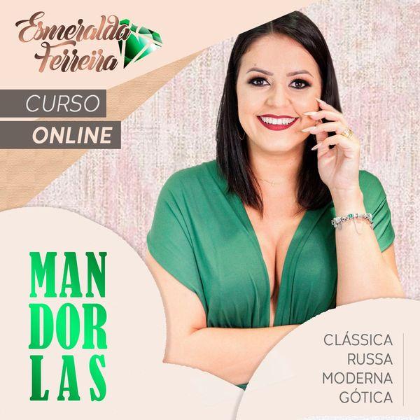 Imagem principal do produto Curso Completo Mandorlas com Esmeralda Ferreira