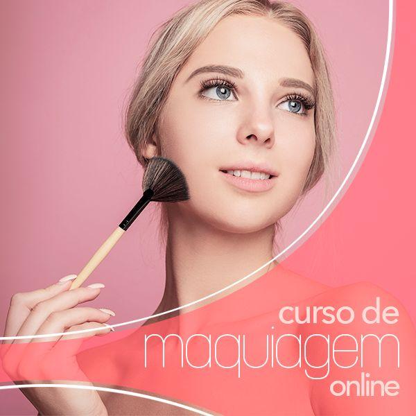 Imagem principal do produto Curso de Maquiagem Online - Acesso Vitalício