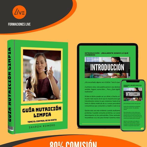 Imagem principal do produto Guía Nutrición Limpia