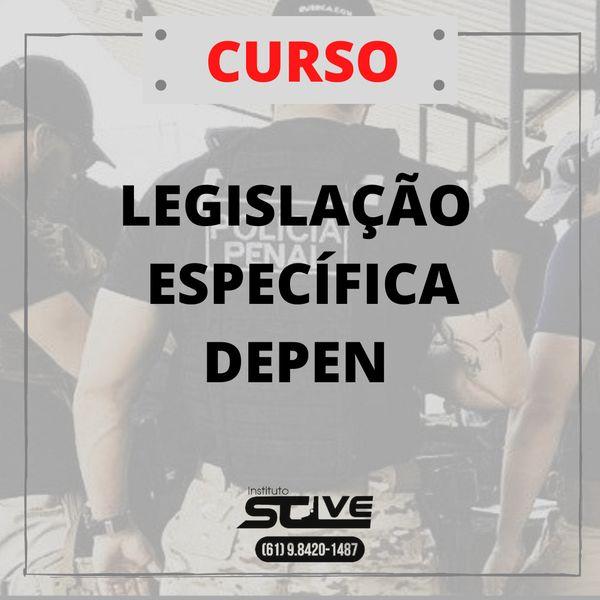 Imagem principal do produto LEGISLAÇÃO PARA O DEPEN