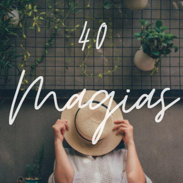 Imagem principal do produto E-book 40 Magias