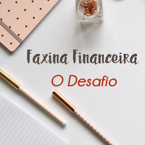 Imagem principal do produto Faxina Financeira - O Desafio