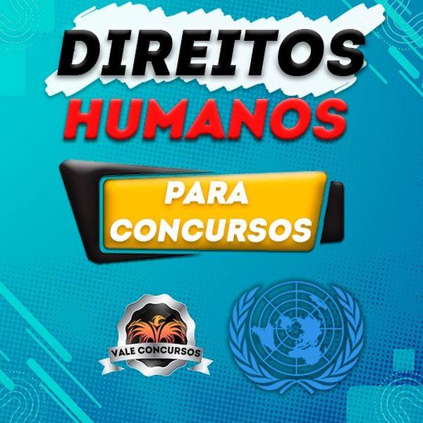 Imagem principal do produto CURSO DE DIREITOS HUMANOS PARA CONCURSOS