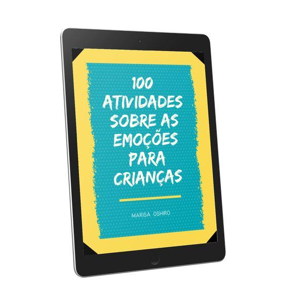 Imagem principal do produto Ebook 100 Atividades sobre as emoções para crianças