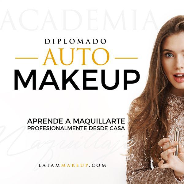 Imagem principal do produto Diplomado Automakeup / Latam Makeup