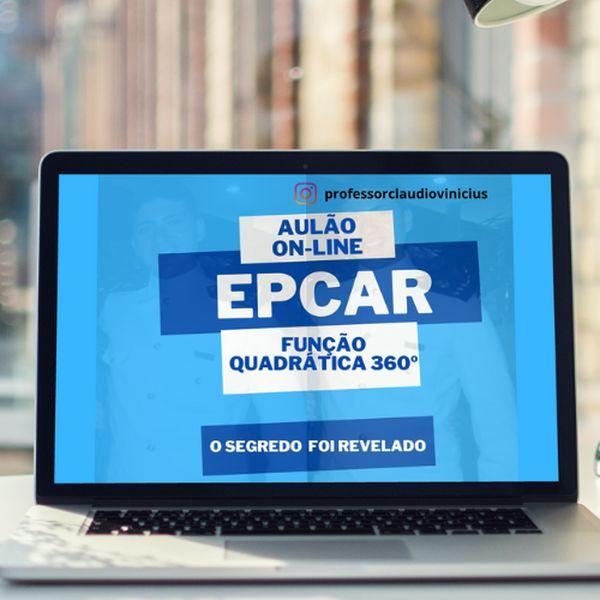 Imagem principal do produto FUNÇÃO QUADRÁTICA 360º - EPCAR 2022