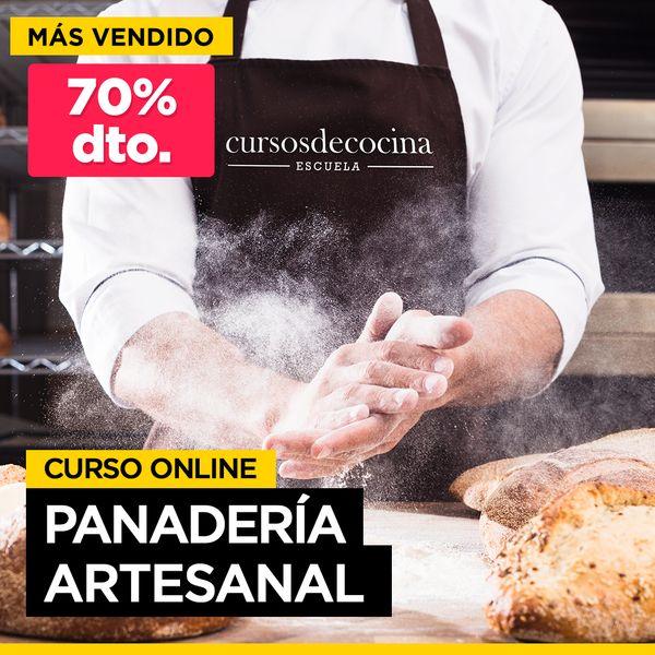Imagem principal do produto Curso Panadería Artesanal