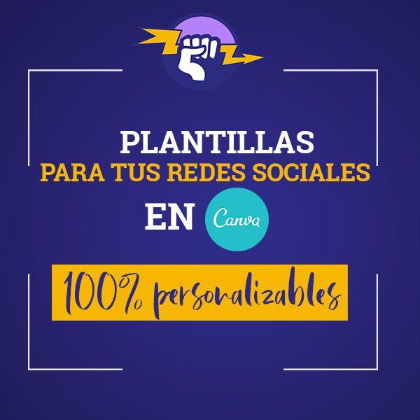 Imagem principal do produto 80 Plantillas de CANVA + 5 CARRUSEL