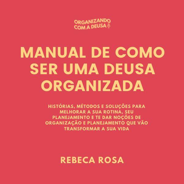 Imagem principal do produto Manual de como ser uma deusa organizada 2.0