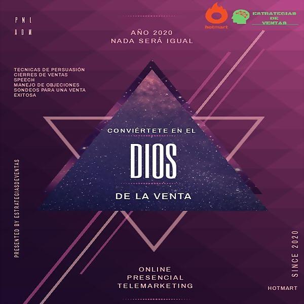 Imagem principal do produto EL DIOS DE LA VENTA + BONO MANEJO DE OBJECIONES
