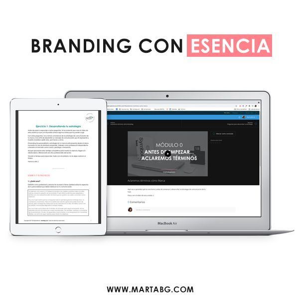 Imagem principal do produto Branding con Esencia