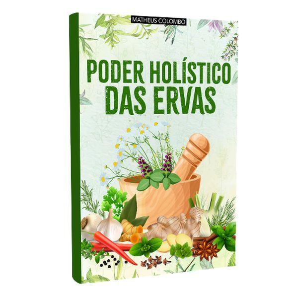 Imagem principal do produto E-book Poder Holístico das Ervas
