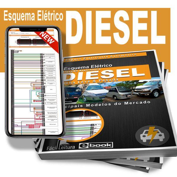 Imagem principal do produto Esquema Elétrico - Injeção Eletrônica Diesel