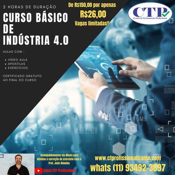 Imagem principal do produto CURSO DE INDUSTRIA 4.0