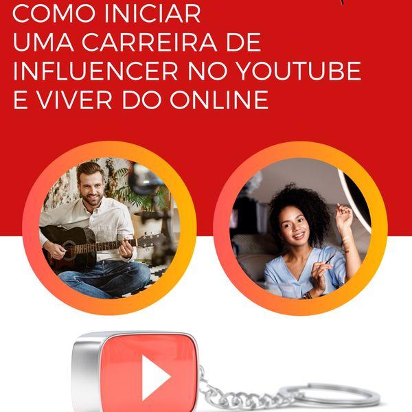 Imagem principal do produto COMO INICIAR UMA CARREIRA NO YOUTUBE