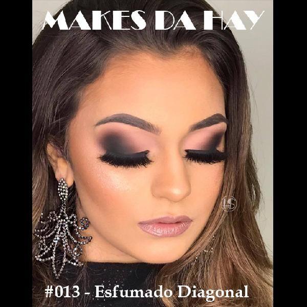 Imagem principal do produto Makes da Hay #013 - Esfumado Diagonal