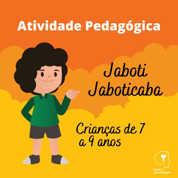Imagem principal do produto Jaboti Jaboticaba - Separação de sílabas Letra