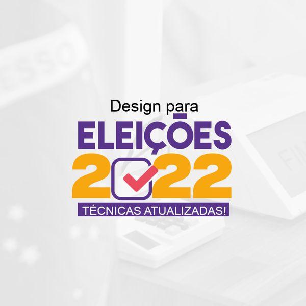 Imagem principal do produto Design eleições 2022