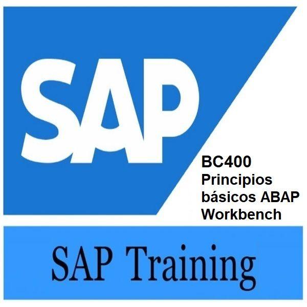 Imagem principal do produto BC400 Principios básicos del ABAP Workbench SAP en Español