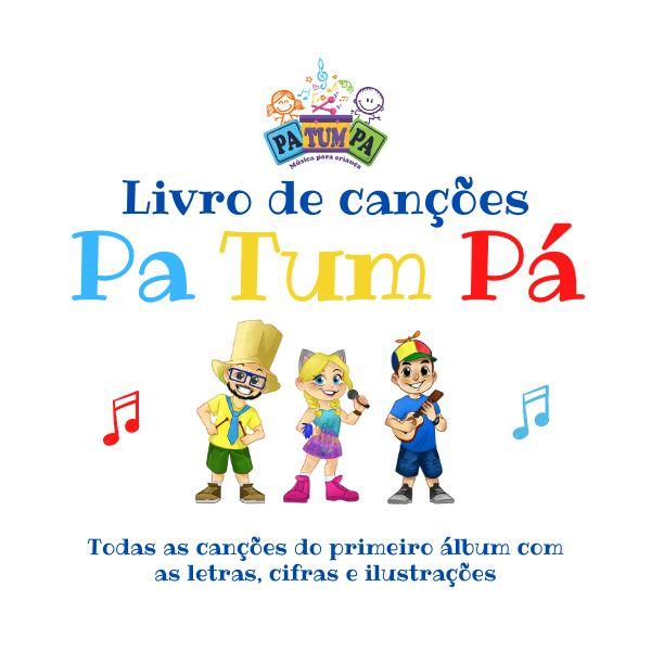 Imagem principal do produto Livro de Canções do Grupo Pa-Tum-Pá