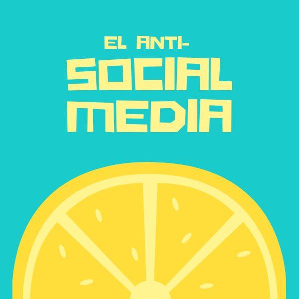 Imagem principal do produto El anti-Social Media