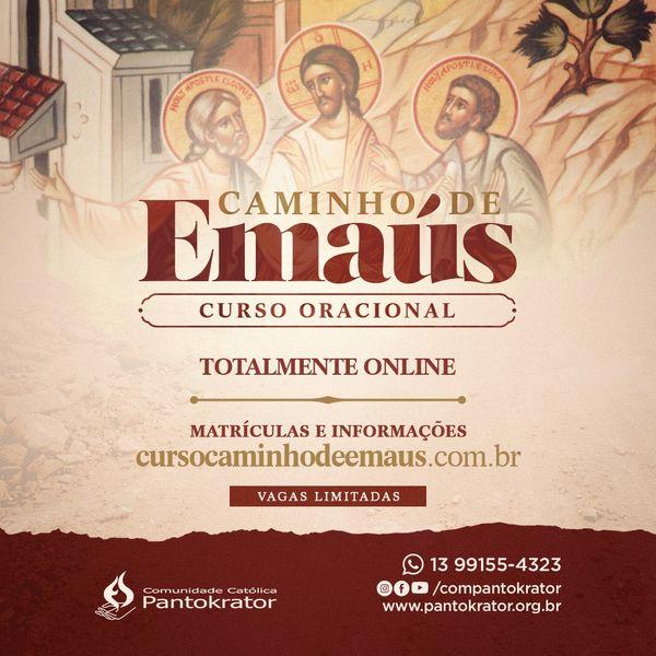 Imagem principal do produto Curso Oracional Caminho de Emaús