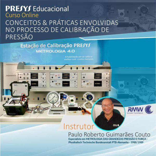 Imagem principal do produto Conceitos & Práticas envolvidas no Processo de Calibração de Pressão