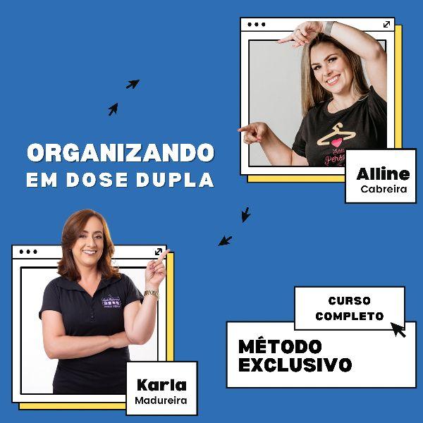 Imagem principal do produto Curso - Organizando em Dose Dupla
